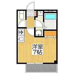 聖護院谷口マンション別館[3階]の間取り