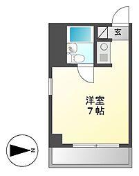 シティライフ鶴舞[8階]の間取り