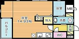 サンシャインⅢ[8階]の間取り
