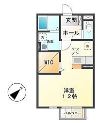メゾンベール・コーヤII B棟[2階]の間取り