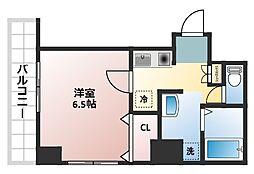 みおつくし堂島[7階]の間取り