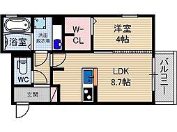 G1-Z3[1階]の間取り