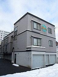北海道札幌市豊平区中の島二条5の賃貸アパートの外観