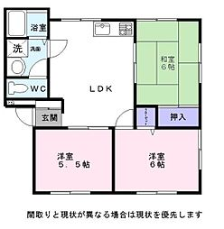 Nasu5[2階]の間取り