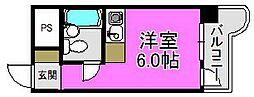 ふぁみーゆ安井[2階]の間取り