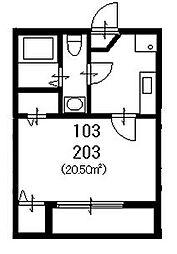 コンパートハウス本星崎[2階]の間取り