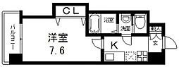 Luxe(ラグゼ)布施北II[402号室号室]の間取り
