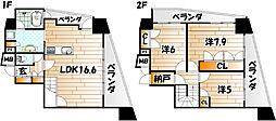 いわきマンションIRIS沢見[7階]の間取り