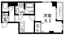 D−room城東[403号室号室]の間取り