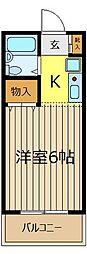 YK2913[1階]の間取り