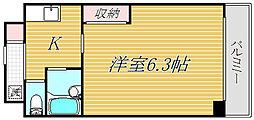 第24芙蓉ハイツ[3階]の間取り