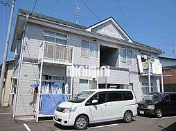 小川ハイツA棟[1階]の外観