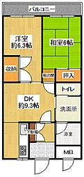 第5関根ビル[202号室]の間取り