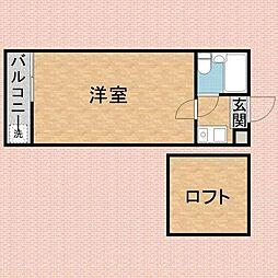 埼玉県川越市大字藤間の賃貸アパートの間取り