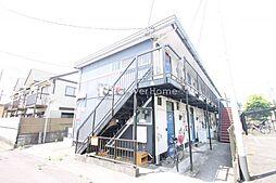 神奈川県相模原市南区北里2丁目の賃貸アパートの外観