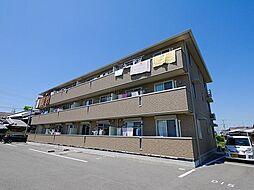 奈良県大和郡山市小泉町の賃貸アパートの外観