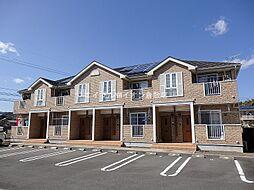 岡山県倉敷市真備町箭田丁目なしの賃貸アパートの外観