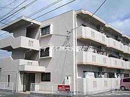 岡山県岡山市北区新屋敷町1丁目の賃貸マンションの外観