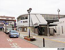 西永福駅(現地まで640m)