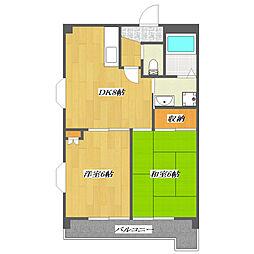 Second Onsei Mansion 〜第2オンセイマン[501号室]の間取り
