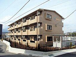 静岡県裾野市佐野の賃貸マンションの外観