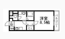 ウイングサンスカディ[2階]の間取り