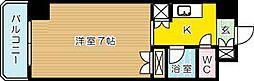 エヴァグレース小倉II[306号室]の間取り