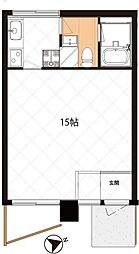 東京都板橋区前野町5丁目の賃貸マンションの間取り