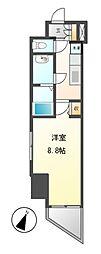 愛知県名古屋市東区出来町1丁目の賃貸マンションの間取り