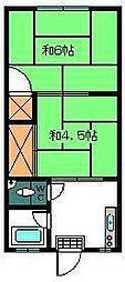 きばめ荘[102号室]の間取り