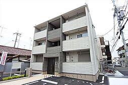 大阪府東大阪市瓜生堂2丁目の賃貸アパートの外観