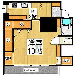 志木住宅[3階]の間取り
