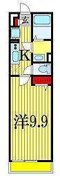 リブリ・リブラ[1階]の間取り