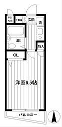 第2野本ビル[2階]の間取り