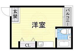 西田辺駅 1.5万円