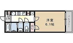 クレイノユニバーサルパレス[2階]の間取り