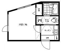 アザーレ生田弐番館[101号室号室]の間取り
