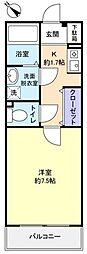 プリマベーラYoshiII[1階]の間取り