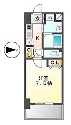 昴新瑞橋[1階]の間取り