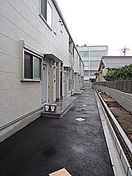 ベルガーデン bt[103kk号室]の外観