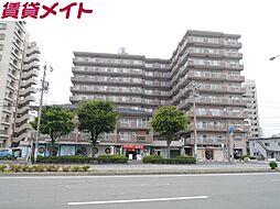 北浜田マンション A棟[3階]の外観