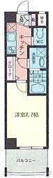 東京都板橋区成増2丁目の賃貸マンションの間取り