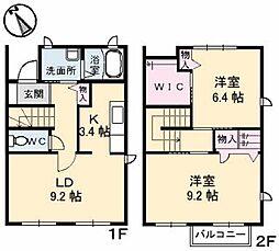 エクセレントホーム[1階]の間取り