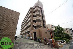 大阪府東大阪市横小路町5丁目の賃貸マンションの外観