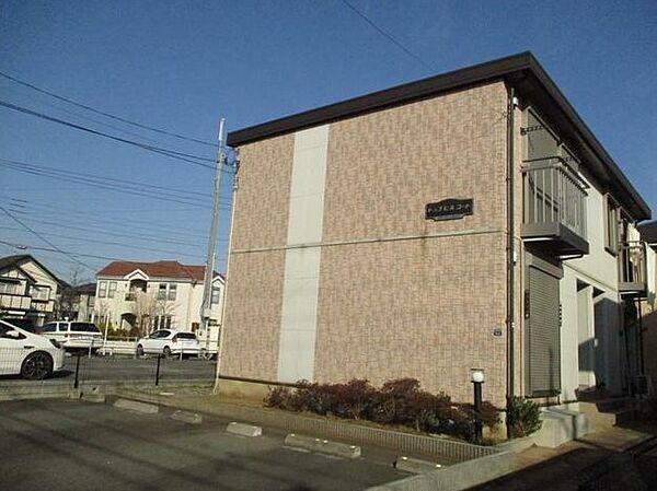 東京都町田市金井7丁目の賃貸アパートの外観