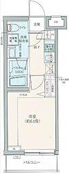 ロアール豊島長崎[311号室]の間取り