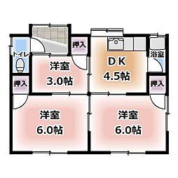 [一戸建] 愛知県北名古屋市徳重 の賃貸【愛知県 / 北名古屋市】の間取り
