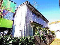 東京都東大和市向原5丁目の賃貸アパートの外観