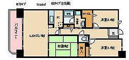 RM2高崎[605号室]の間取り