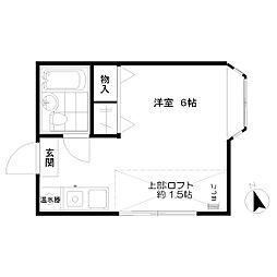 ジラーフ ハウス[201号室]の間取り